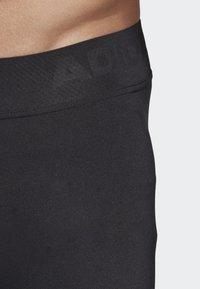 adidas Performance - ALPHASKIN 3/4 3-STRIPES TIGHTS - 3/4 sportsbukser - black - 5