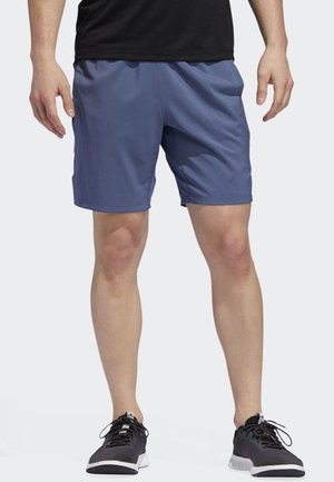 4KRFT TECH WOVEN 3-STRIPES SHORTS - Korte broeken - blue
