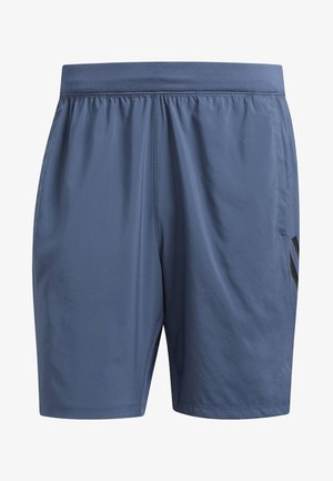 4KRFT TECH WOVEN 3-STRIPES SHORTS - Sports shorts - blue