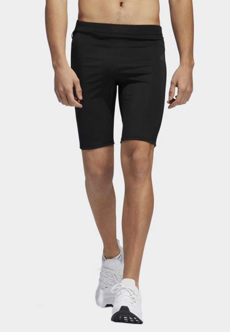 adidas Performance - OWN THE RUN SHORT TIGHTS - Short de sport - black