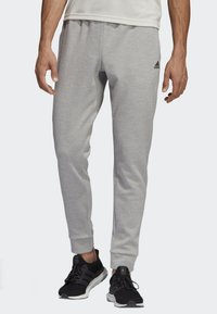 adidas Performance - ID STADIUM TRACKSUIT BOTTOMS - Tracksuit bottoms - grey - 0