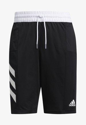SPORT 3-STRIPES SHORTS - Sports shorts - black