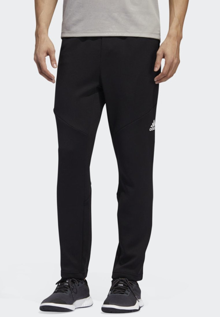 adidas Performance - CLIMAWARM TRAINING JOGGERS - Tracksuit bottoms - black