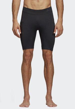 ALPHASKIN TECH SHORT 3-STRIPES TIGHTS - Sports shorts - black