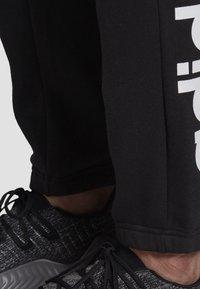 adidas Performance - LINEAR JOGGERS - Trainingsbroek - black - 3