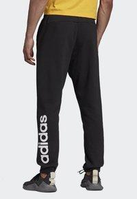 adidas Performance - LINEAR JOGGERS - Trainingsbroek - black - 1