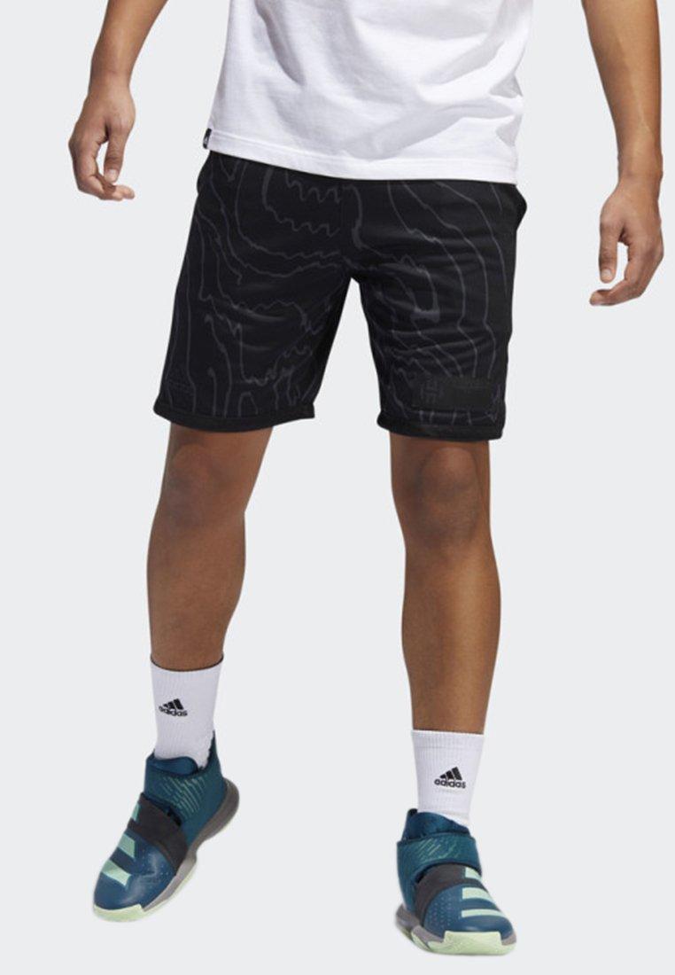 adidas Performance - HARDEN SWAGGER SHORTS - kurze Sporthose - grey