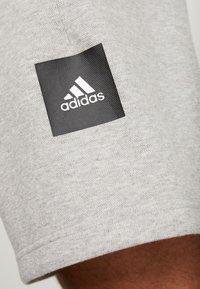 adidas Performance - MUST HAVE ENHANCED ATHLETICS SPORT SHORTS - kurze Sporthose - medium grey heather - 5