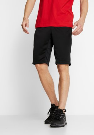 CITY LONG SHORT - Urheilushortsit - black