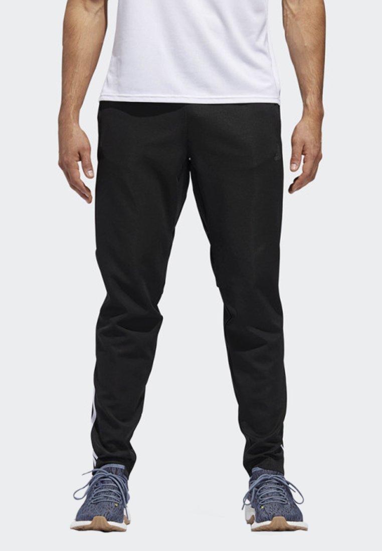 adidas Performance - RUN ASTRO 3-STRIPES TIGHTS - Tracksuit bottoms - black