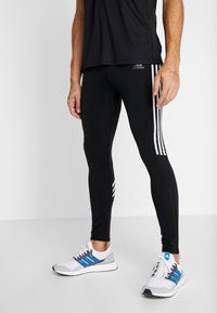 adidas Performance - Leggings - black/white - 0