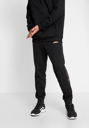 M ESS BR PNT - Pantalon de survêtement - black