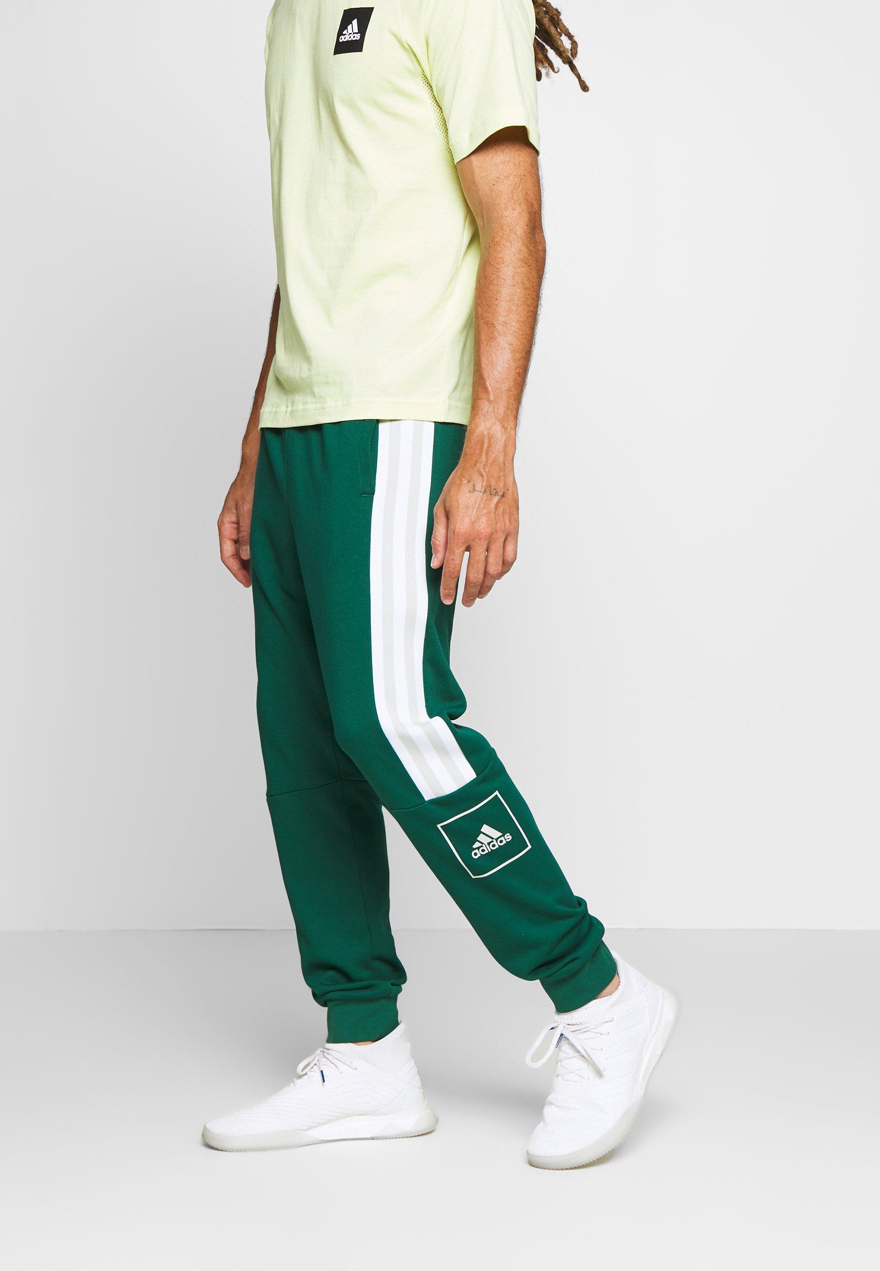 adidas Performance SLIM PANT Verryttelyhousut green