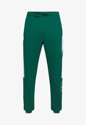 SLIM PANT - Teplákové kalhoty - green