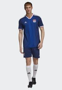 adidas Performance - OLYMPIQUE LYONNAIS AWAY SHORTS - Sports shorts - blue - 1