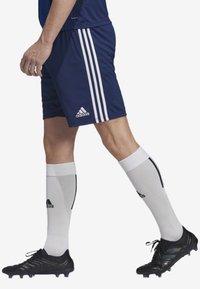adidas Performance - OLYMPIQUE LYONNAIS AWAY SHORTS - Sports shorts - blue - 3