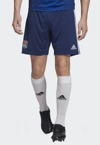 adidas Performance - OLYMPIQUE LYONNAIS AWAY SHORTS - Sports shorts - blue - 0