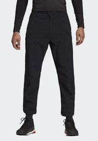 adidas Performance - TERREX HIKE TROUSERS - Trousers - black - 0