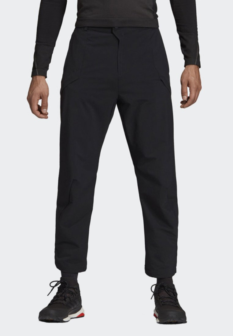 adidas Performance - TERREX HIKE TROUSERS - Trousers - black