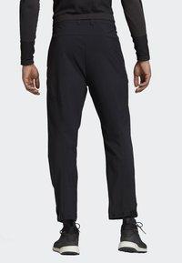 adidas Performance - TERREX HIKE TROUSERS - Trousers - black - 2