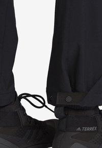 adidas Performance - TERREX HIKE TROUSERS - Trousers - black - 6