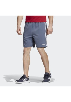 ESSENTIALS 3-STRIPES CHELSEA SHORTS 7 INCH - Träningsshorts - blue