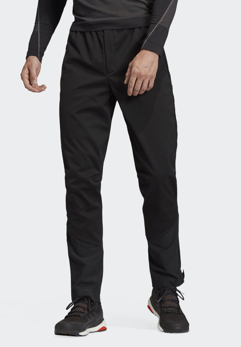 adidas Performance - TERREX SKYRUNNING TROUSERS - Tracksuit bottoms - black