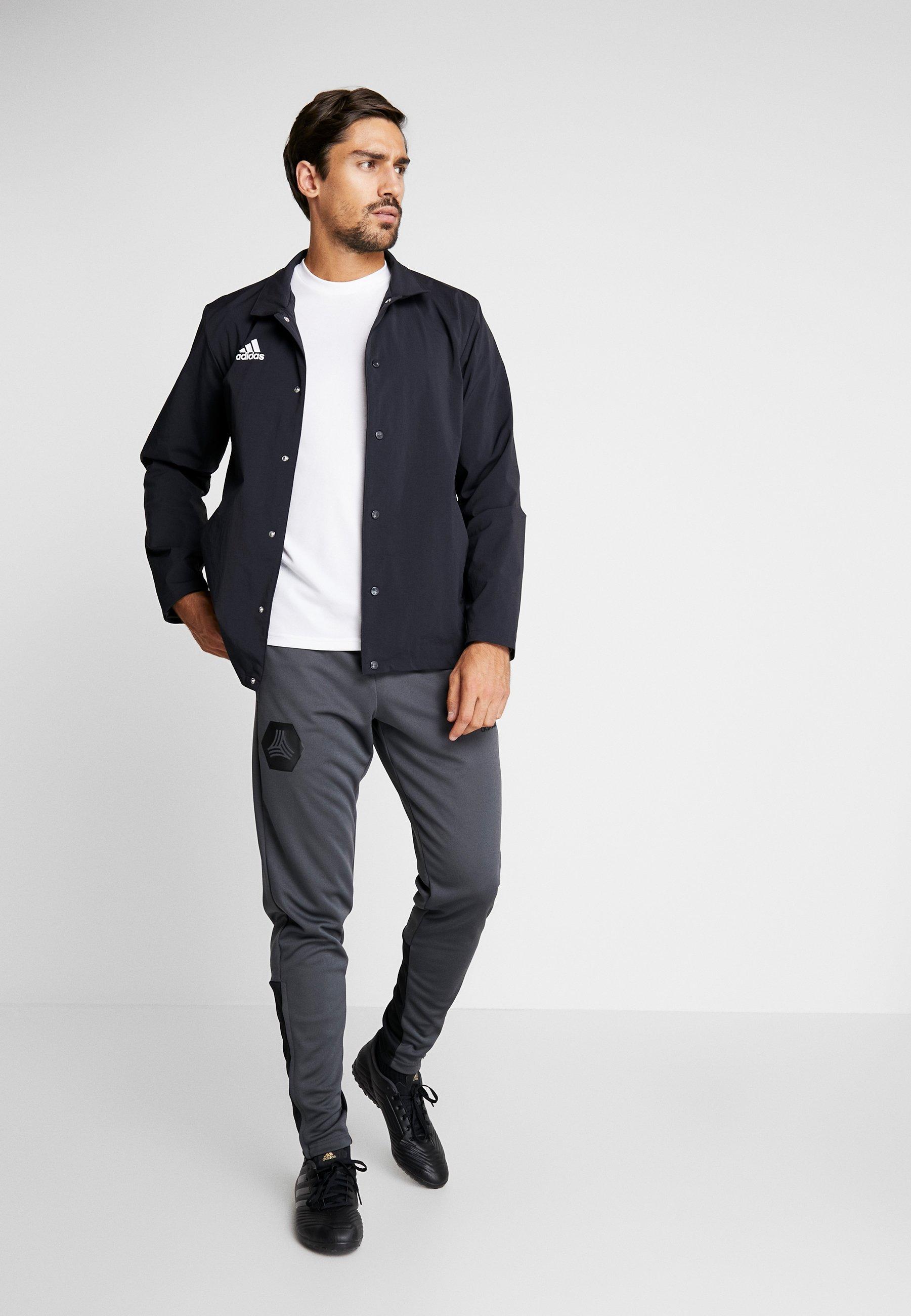 adidas Performance TAN PANT - Spodnie treningowe - grey