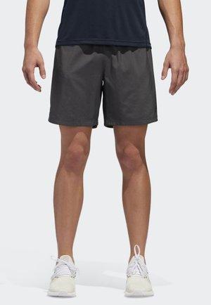 OWN THE RUN SHORTS - kurze Sporthose - grey