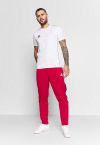 adidas Performance - TAN CLUB PANT - Pantalon de survêtement - scarle - 1