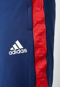 adidas Performance - TAN CLUB PANT - Teplákové kalhoty - navblu - 4
