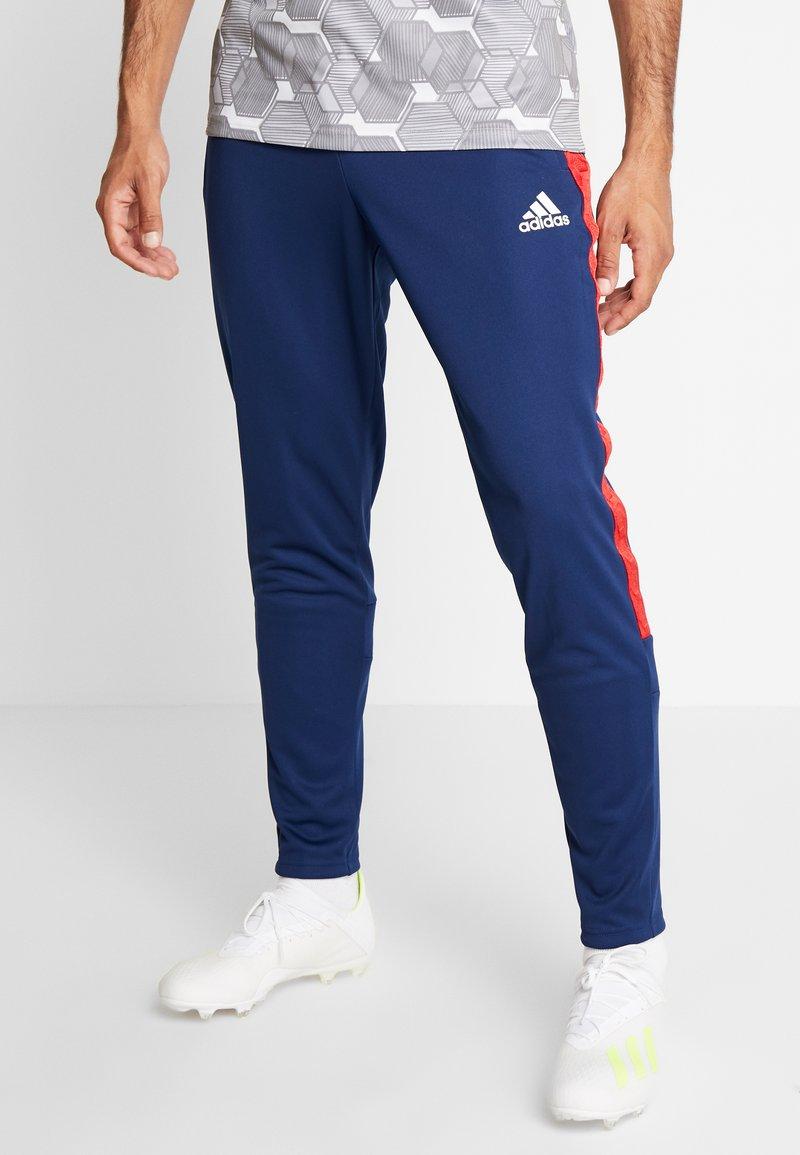 adidas Performance - TAN CLUB PANT - Teplákové kalhoty - navblu