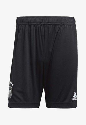 DFB  - Pantalón corto de deporte - black/white