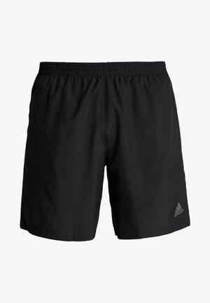 RUN IT SHORT - Pantalón corto de deporte - black
