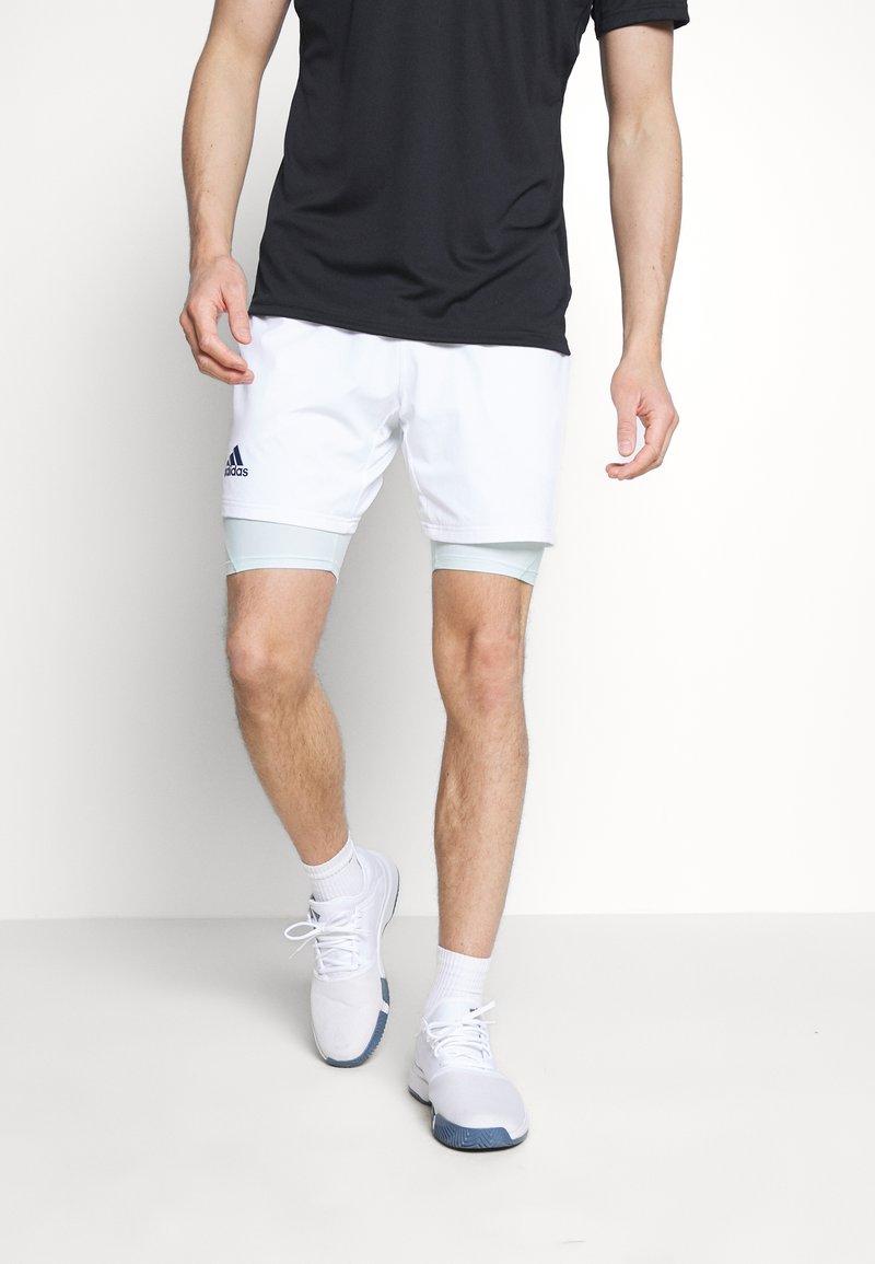 adidas Performance - SHORT H.RDY 2 IN 1 - Urheilushortsit - white