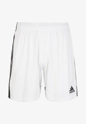 TASTIGO - Sports shorts - white/black