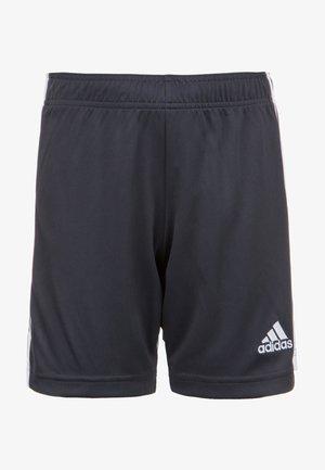 TASTIGO - Sports shorts - dark grey/white