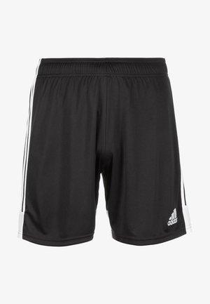 TASTIGO - Sports shorts - black/white