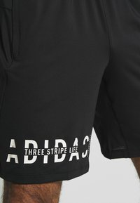 adidas Performance - HYPER - Sports shorts - black - 4