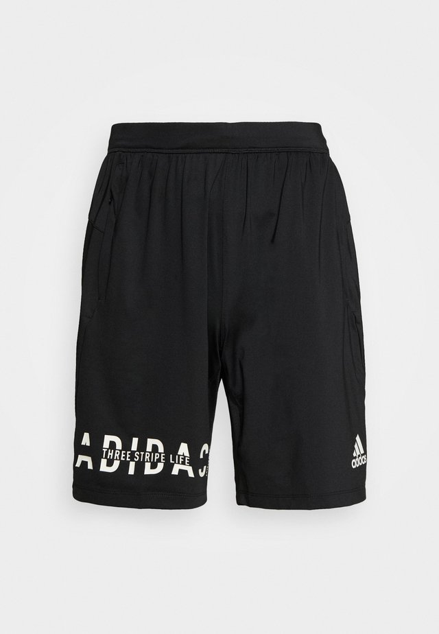 HYPER - Pantalón corto de deporte - black