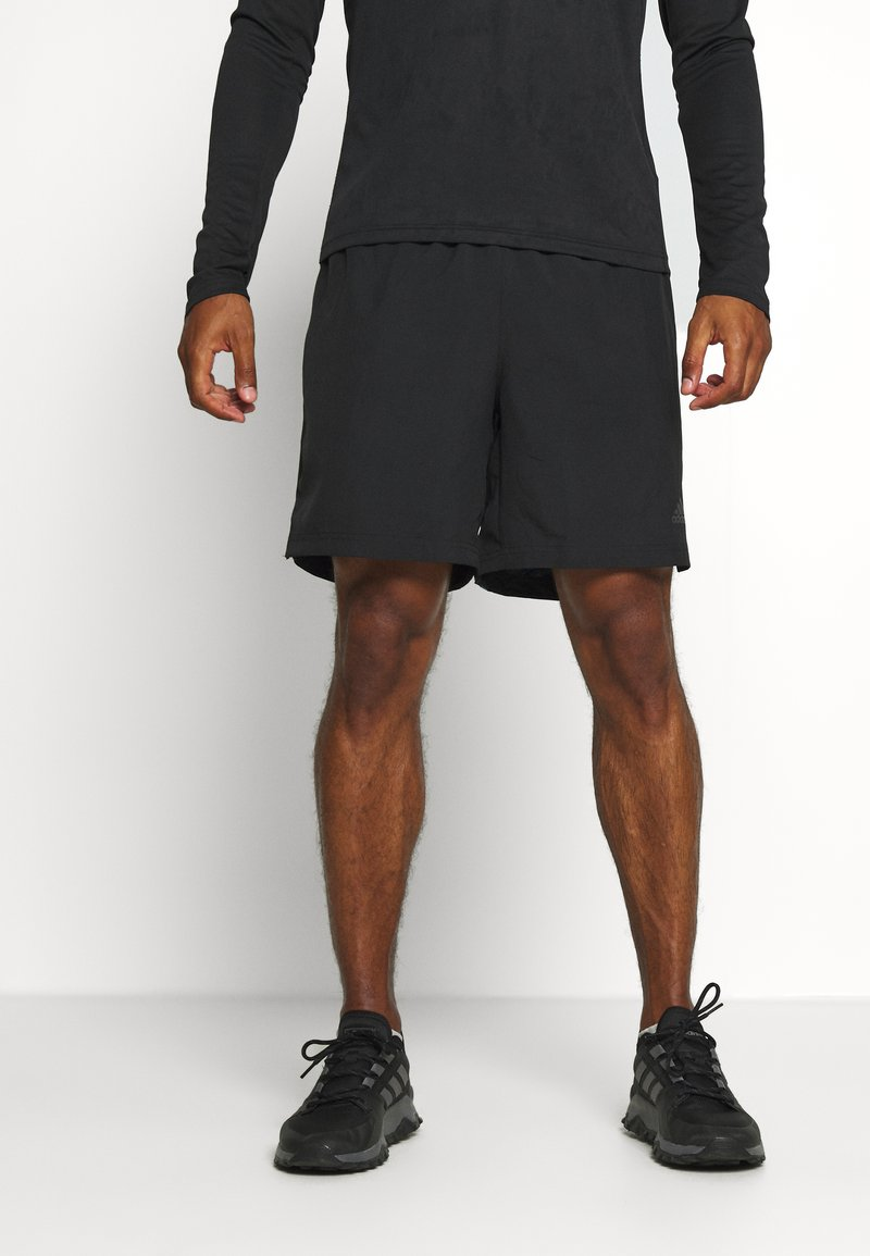 adidas Performance - RUN IT  - Sports shorts - black/glory blue