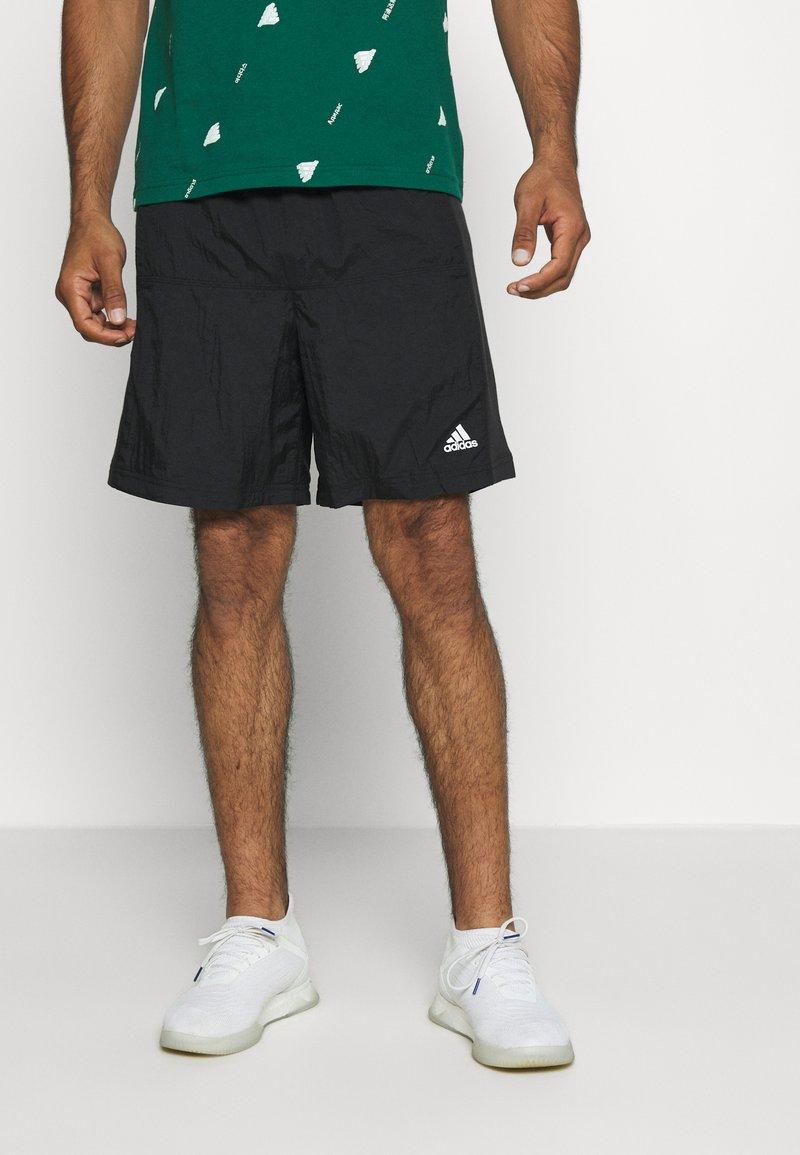 adidas Performance - SPORT SHORT - Sportovní kraťasy - black