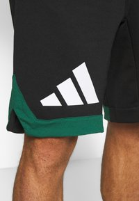 adidas Performance - PACK SHORT - kurze Sporthose - black/green - 6