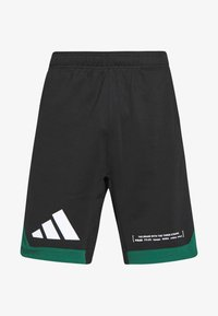 adidas Performance - PACK SHORT - kurze Sporthose - black/green - 5