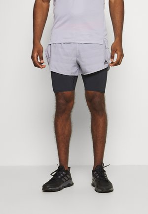 HEAT.RDY SHORT - Sports shorts - grey/black/pink