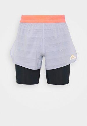HEAT.RDY SHORT - Sports shorts - grey/black/pink