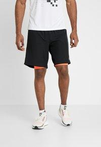 adidas Performance - OWN THE RUN 2N1 - Pantalón corto de deporte - black/solred - 0