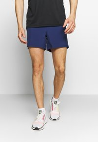 adidas Performance - OWN THE RUN SHORT - Urheilushortsit - dark blue - 0