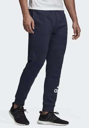 MUST HAVES FRENCH TERRY BADGE OF SPORT JOGGERS - Tracksuit bottoms - blue