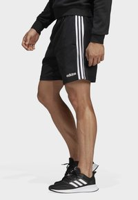 adidas Performance - ESSENTIALS 3-STRIPES SHORTS - Short de sport - black - 3